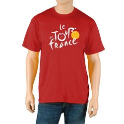 Tour de France Men's Classic Short Sleeve Tee - Red - Size: X-Large