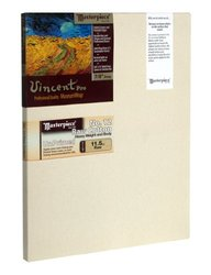"Masterpiece Vincent PRO 7/8"" Deep, 12 x 36 Inch, Raw Unprimed No. 12 Heavy Cotton Canvas"
