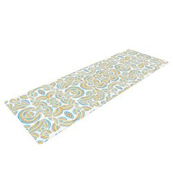 Kess InHouse Pom Graphic Design Yoga Mat - Infinite Thoughts
