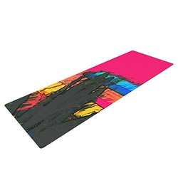 "Kess InHouse Oriana Cordero ""Days of Summer"" Yoga Exercise Mat - 72x24"""