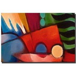 Trademark Fine Art Tropicana by Adam Kadmos Canvas Wall Art, 16x24-Inch