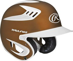 Rawlings Men's Two Tone Translucent Matte Batting Helmet - Texas Orange