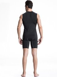 Neleus Men's Sport Under Base Athletic Tank Top - Assorted - Size: XL