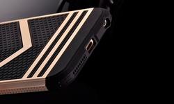 Luxury Retro Decorative Woven Pattern Case for iPhone 6/6s Plus - Golden