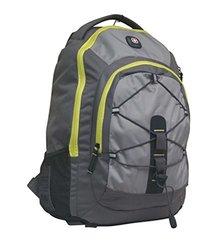 "SwissGear The Jupiter 16"" Padded Laptop Backpack - Steel Grey/ Yellow"