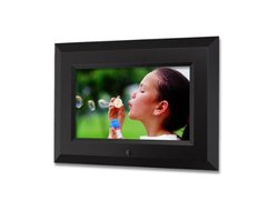 Sungale 7-Inch Digital Photo Frame - Black (CA705)