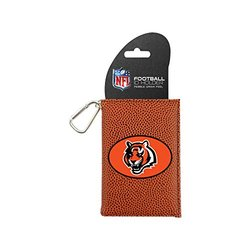 NFL Cincinnati Bengals Classic Football ID Holder - One Size - Brown