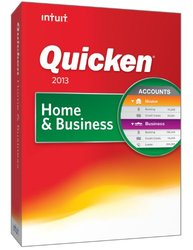 Intuit Quicken Home and Business 2013 for Windows PC- 419323