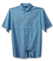 Kavu Men's Jacksonville Shirt - River Blue - Size: X-Large