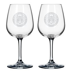 Boelter MLS Philadelphia 2 Pack Union Wine Glasses