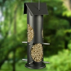 Heath Outdoor Products 393P Colorful Surroundings Nut and Seed Feeder