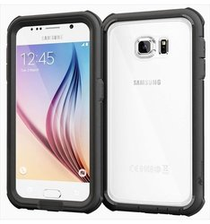 roocase Glacier Tough Full Body Case For Samsung Galaxy S6, Granite Black