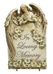 Napco In Loving Memory Plaque, 15-1/2-Inch Tall