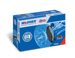 Wagner QuickStop ZD1463 Ceramic Disc Pad Set Includes Pad Installation Hardware, Front