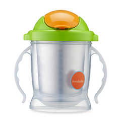 Innobaby Sippin' Smart EZ Flow Stainless Sippy - Green