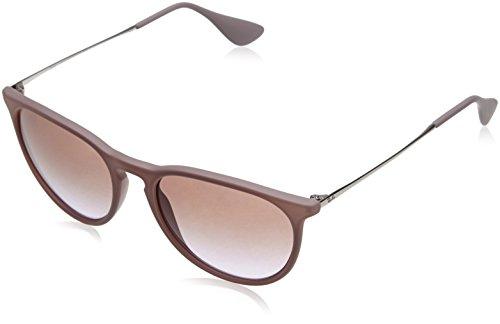 e0a77d91feeb7 ... Ray Ban Women s Erika Sunglasses - Brown Frame Brown Lens - Size  ...