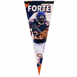 "WinCraft 12"" x 30"" NFL Chicago Bears Matt Forte Premium Quality Pennant"