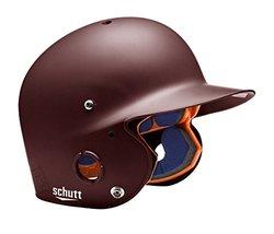 Schutt Sports Junior OSFM 2742 AIR PRO 4.2 Batter's Helmet, Maroon Matte Clear