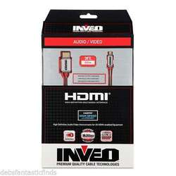 Inveo 3FT High-Speed Micro HDMI Cable