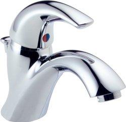 Delta Single Handle Centerset Lavatory Faucet - Chrome