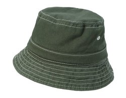 City Threads Kid's Wharf Hat - Olive - Size: M (6 -18mo)