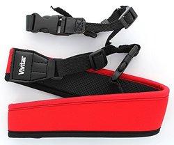 VIVITAR VIV-SLR-STP-RED Neoprene SLR Strap (Red)