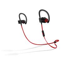 Beats by Dre Powerbeats2 In Ear Headphones - Black/Red (MH762AM/A)