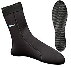 H2Odyssey Ultra Sock 3mm Unisex Fin Sock - Size:Small