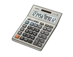 Casio 12-Digit LCD Desktop Calculator - Silver