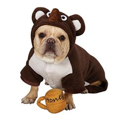Zack & Zoey Polyester Lil Honey Bear Dog Costume - Brown - Size: XS