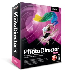 CyberLink PhotoDirector 5 Ultra CD for Windows/Mac