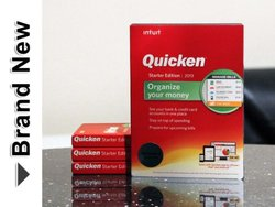 Intuit Quicken Starter Edition 2013 Finance & Budgeting Software Cd