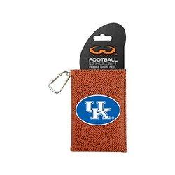 NCAA Kentucky Wildcats Classic Football ID Holder, One Size, Brown