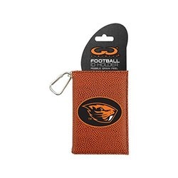NCAA Oregon State Beavers Classic Football ID Holder, One Size, Brown