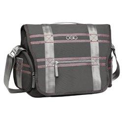 OGIO International Women's Monaco Messenger Laptop Backpack, Gray/Pink