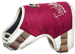 Touchdog Tough-Boutique Adjustable Fashion Dog Harness, Dark Pink, SM