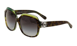 Michael Kors Sunglasses - Tortoise Green/Grey (MK6002B-300211-60)