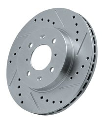 Power Stop AR8260XR Cross Drilled and Slotted Performance Brake Rotor - Right