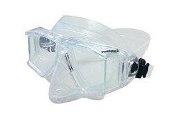Genesis Panview 2 Dive Mask, Clear