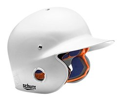 Schutt Sports Junior OSFM 2742 AIR PRO 4.2 BB Batter's Helmet, White Matte Clear
