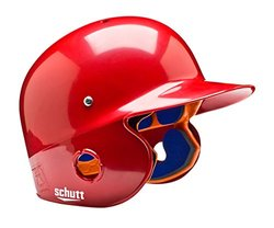 Schutt Sports Senior OSFM 2742 AIR PRO 4.2 BB Batter's Helmet, High Gloss Scarlet