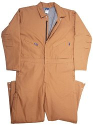 LAPCO CIFRBRDK-XL TL 12-Ounce Duck Flame Resistant Insulated Coverall, Brown
