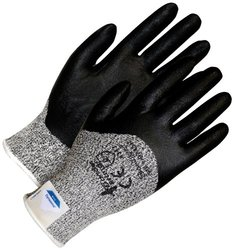 BDG 99-1-9747-10 Dyneema Cut Resistant 3 Synthetic Glove with Coated Fingertips, X-Large