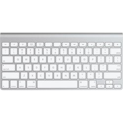 Apple Sleek Aluminum Wireless Keyboard (MC184LL/A)