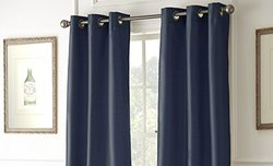 Black Out Curtains: Indigo (2-Pack)