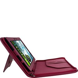 rooCASE Magenta Executive Leather Tablet Case