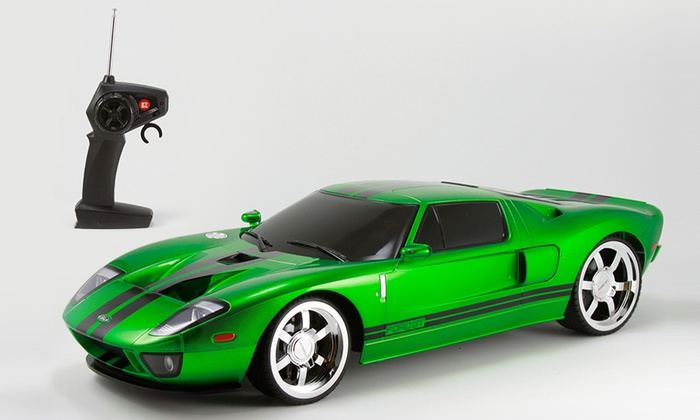 Xq Ford Gt Rc Cars  Th Scale Green