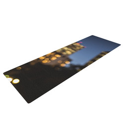 Kess InHouse Ann Barnes Nola at Night Yoga Mat
