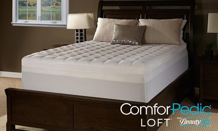 comforpedic loft mattress topper ComforPedic Loft 4.5