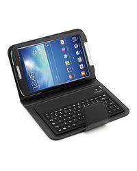 Mgear Accessories PU Leather Keyboard Folio Case for Galaxy Tab 3 - Black